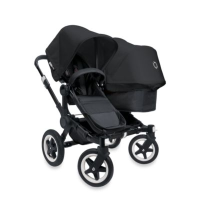 Bugaboo Donkey Duo Extension Set in All Black