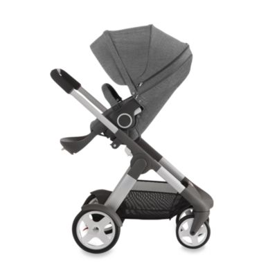 Stokke® Crusi™ Stroller in Black Melange