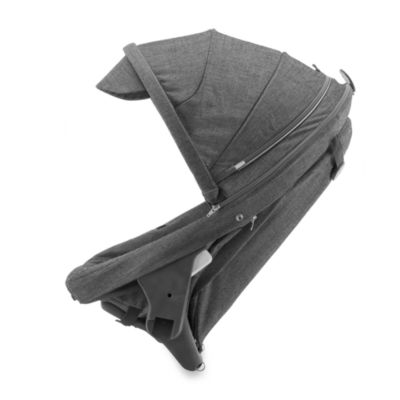 Stokke® Crusi Sibling Seat in Black Melange