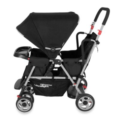 Double Strollers > Joovy® Caboose Too Ultralight Stand-On Tandem Stroller in Black