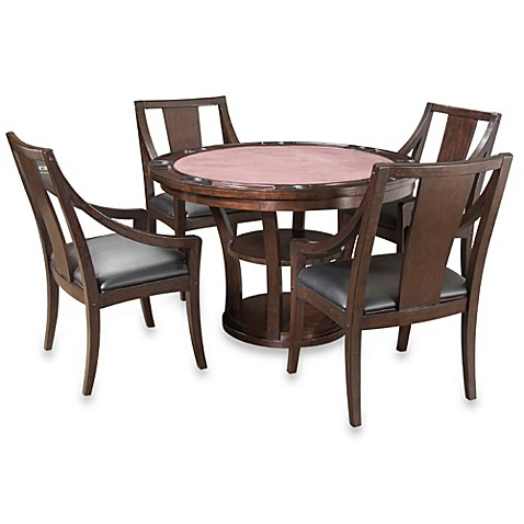 Home Styles Rio Vista 5-Piece Game Table Set