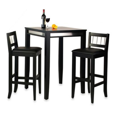 Home Styles 3-Piece Manhattan Pub Table