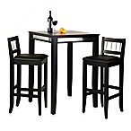 Home Styles Manhattan 3-Piece Pub Table