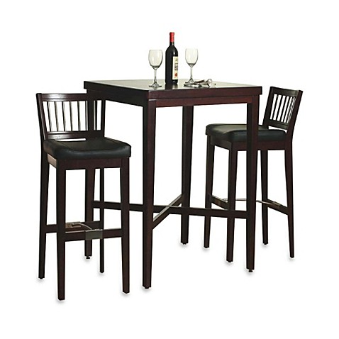 Home Styles 3-Piece Pub Table Set in Cherry
