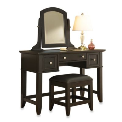 Black Vanity Sets & Benches