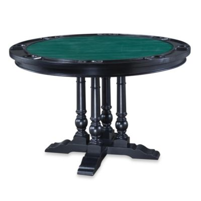 Home Styles St. Croix Dining/Game Table in Black