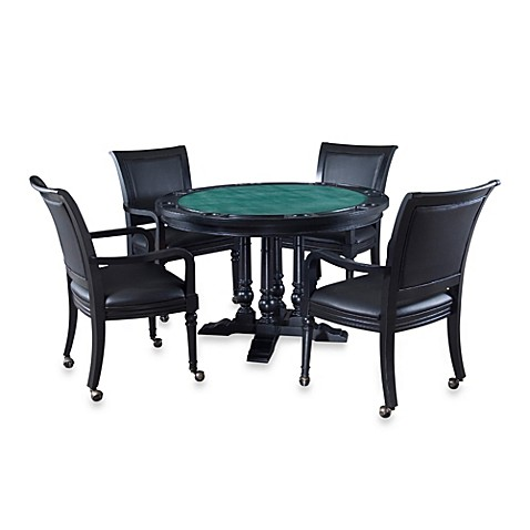 Home Styles St. Croix Dining/Game Table 5-Piece Set