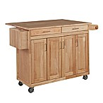 Home Styles Wood Top Kitchen Cart