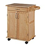 Home Styles Promo Natural Wooden Kitchen Cart