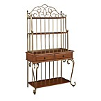 Home Styles St. Ives Cinnamon Cherry Baker's Rack
