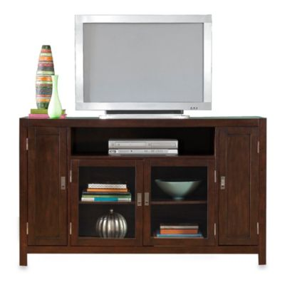 City Chic Espresso TV Credenza