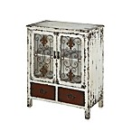 Powell® 2-Door/2-Drawer Console in Parcel White