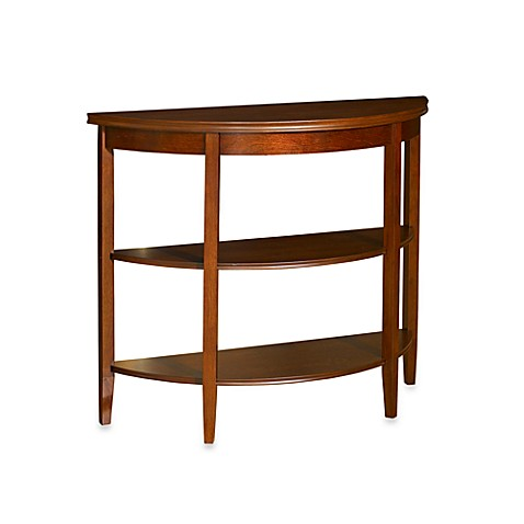 Shelburne Demilune Console Table in Cherry