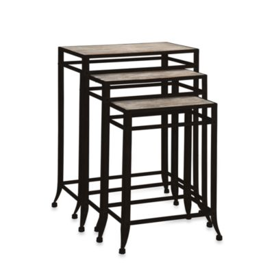 Driftwood Nesting Tables (Set of 3)
