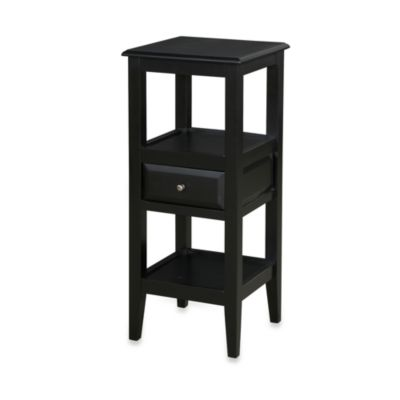 Sedona Antique Black Pedestal Table