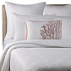 Solid Seashell White Pillow Shams