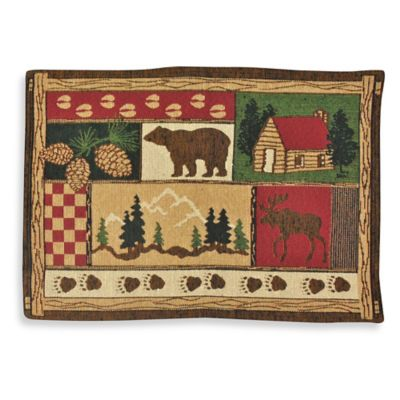 Log Cabin Placemat