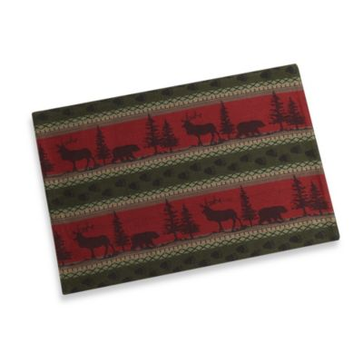 Great Outdoors Jacquard Placemat 100% Cotton