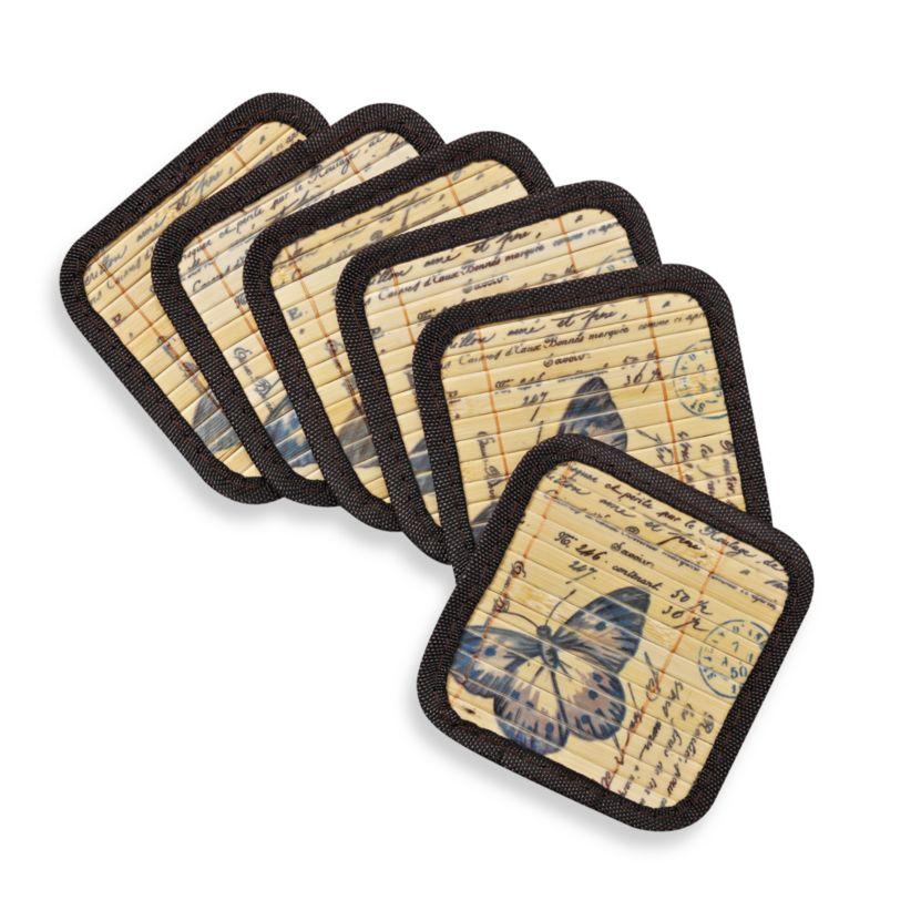 Bamboo Coasters (Set of 6)