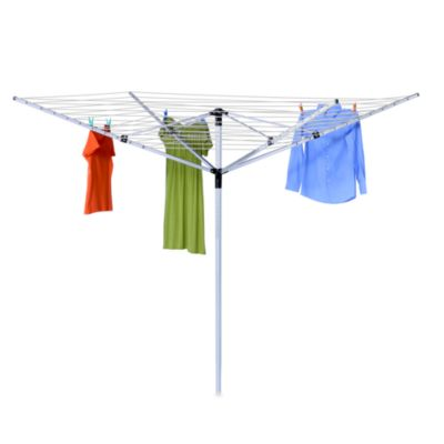 Honey-Can-Do Adjustable Outdoor Umbrella Dryer