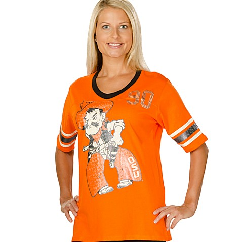 Oklahoma State University Small Tunic in Orange