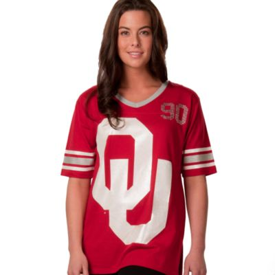University of Oklahoma Large Tunic in Crimson