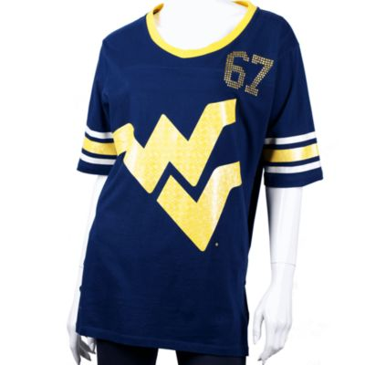 West Virginia University Extra Large Tunic in Navy