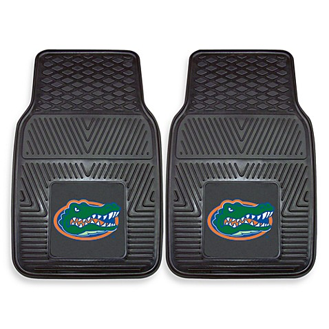 University of Florida Heavy Duty 2-Piece Vinyl Car Mat Set
