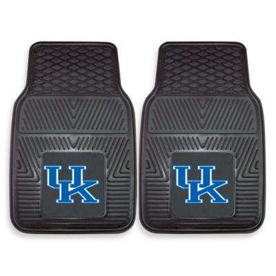 University of Kentucky Heavy Duty 2-Piece Vinyl Car Mat Set