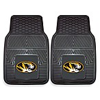 University of Missouri Heavy Duty 2-Piece Vinyl Car Mat Set
