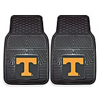University of Tennessee Heavy Duty 2-Piece Vinyl Car Mat Set