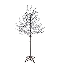 6.5-Foot LED Blossom Tree with Brown Trunk Collection