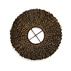 Jeffan International Sandia Round Rattan Wall Deco