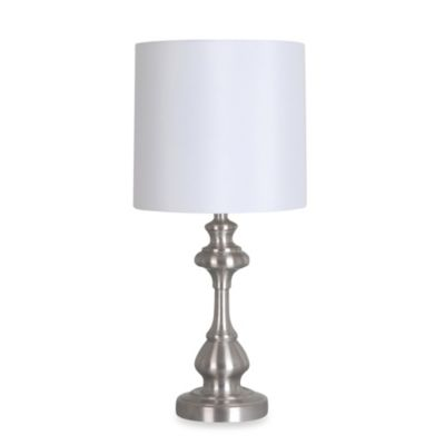 Rebecca Table Lamp in Brushed Steel