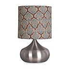 Rachel Table Lamp in Brushed Steel