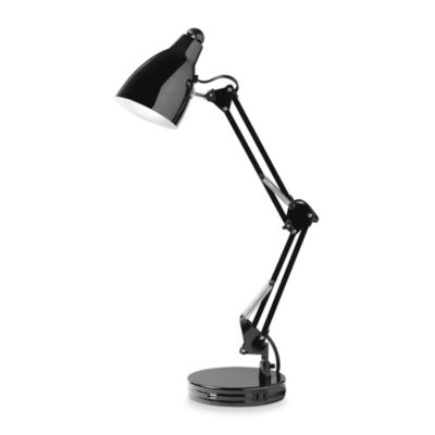 Studio 3B™ Architect's USB Desk Lamp in Black