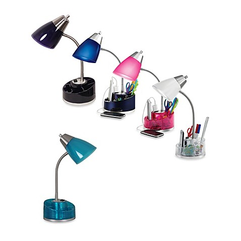 Equip Your Space Organizer Desk Lamp