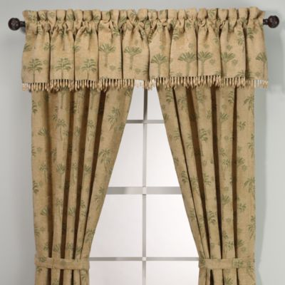 Palm Beach Beaded Valance