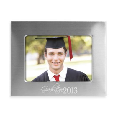 Stamped Metal 5-Inch x 7-Inch Graduation Photo Frame