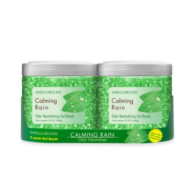 Smells BeGone® 2-Pack Calming Rain Odor Neutralizing Gel Beads