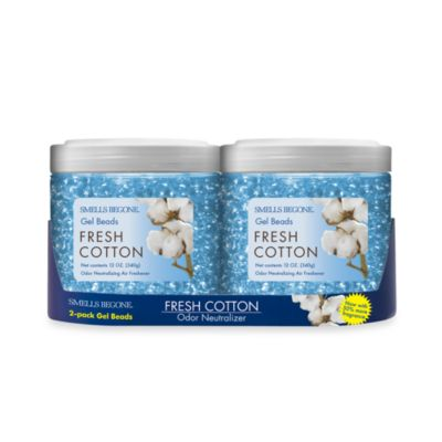 Smells BeGone® 2-Pack Fresh Cotton Odor Neutralizing Gel Beads