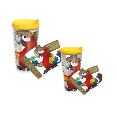 Tervis® It's 5 O'clock Somewhere Parrot Wrap Tumblers with Yellow Lid