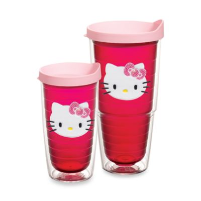 Tervis® Hello Kitty® Wrap Tumblers with Pink Lid