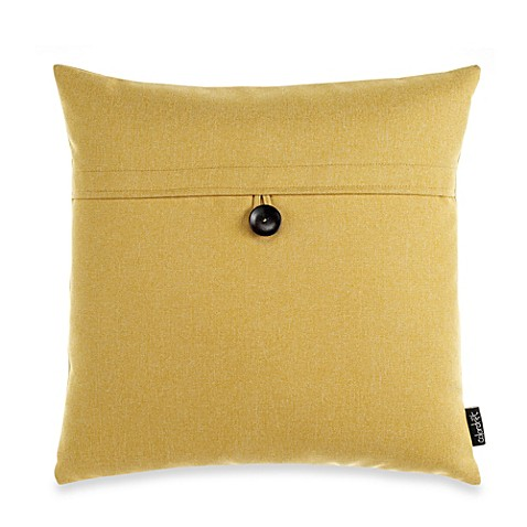 Sullivan Decorative Square Toss Pillow in Yellow