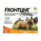 FRONTLINE Plus for Dogs up to 22 Pounds