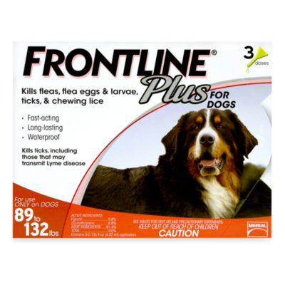 Frontline® Plus for Dogs 89 to 132 Pounds