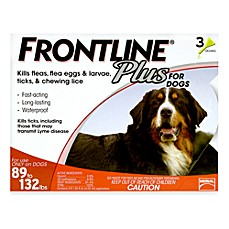 FRONTLINE Plus for Dogs 89 to 132 Pounds
