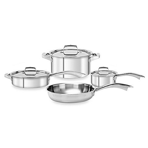 Zwilling J.A. Henckels TruClad 7-Piece Cookware Set