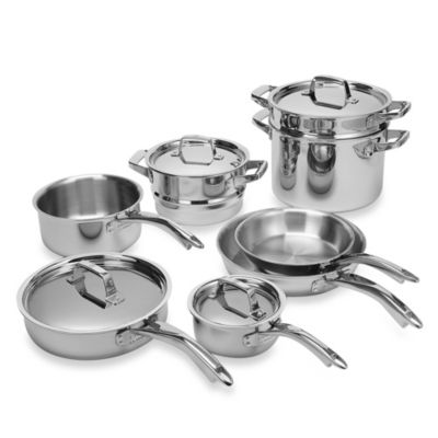 Zwilling J.A. Henckels TruClad 12-Piece Cookware Set