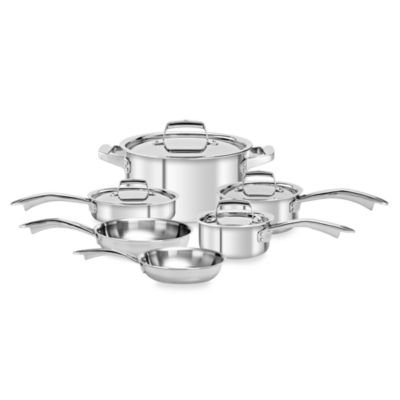 Zwilling J.A. Henckels TruClad 10-Piece Cookware Set